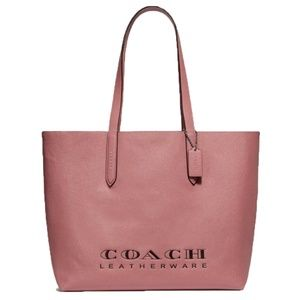 COACH - HIGHLINE CROSSGRAIN LEATHER TOTE